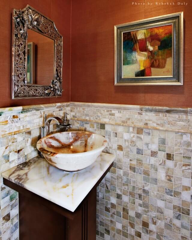 Traditional European Design with Warm Colors