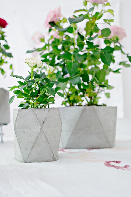 Concrete Products Light Grey Decor