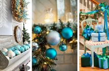 Blue Christmas Decorations