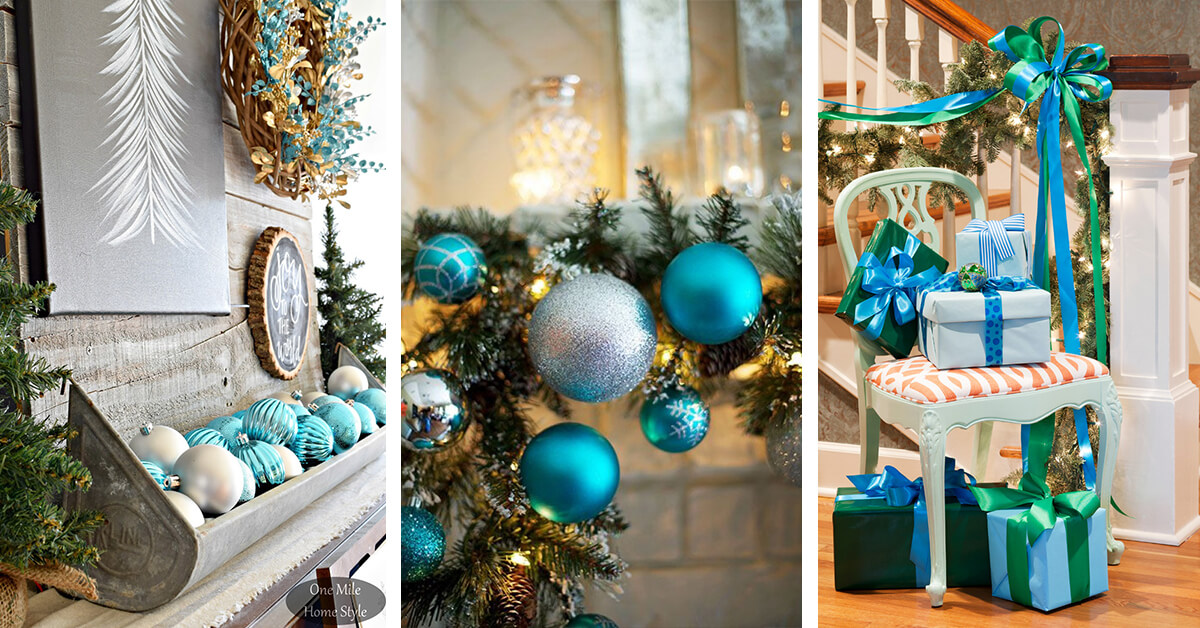 23 Best Blue Christmas Decor Ideas And