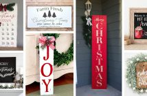 Christmas Wood Signs