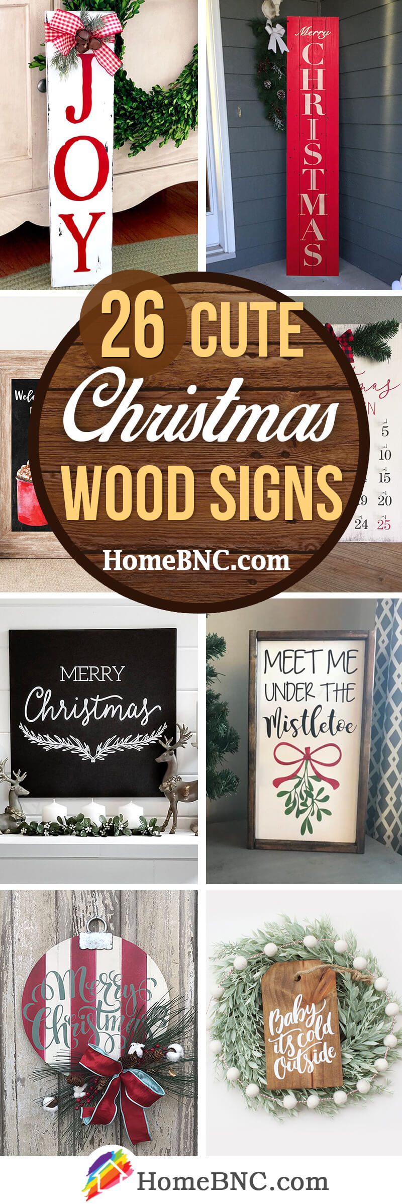 Christmas Wood Sign Ideas