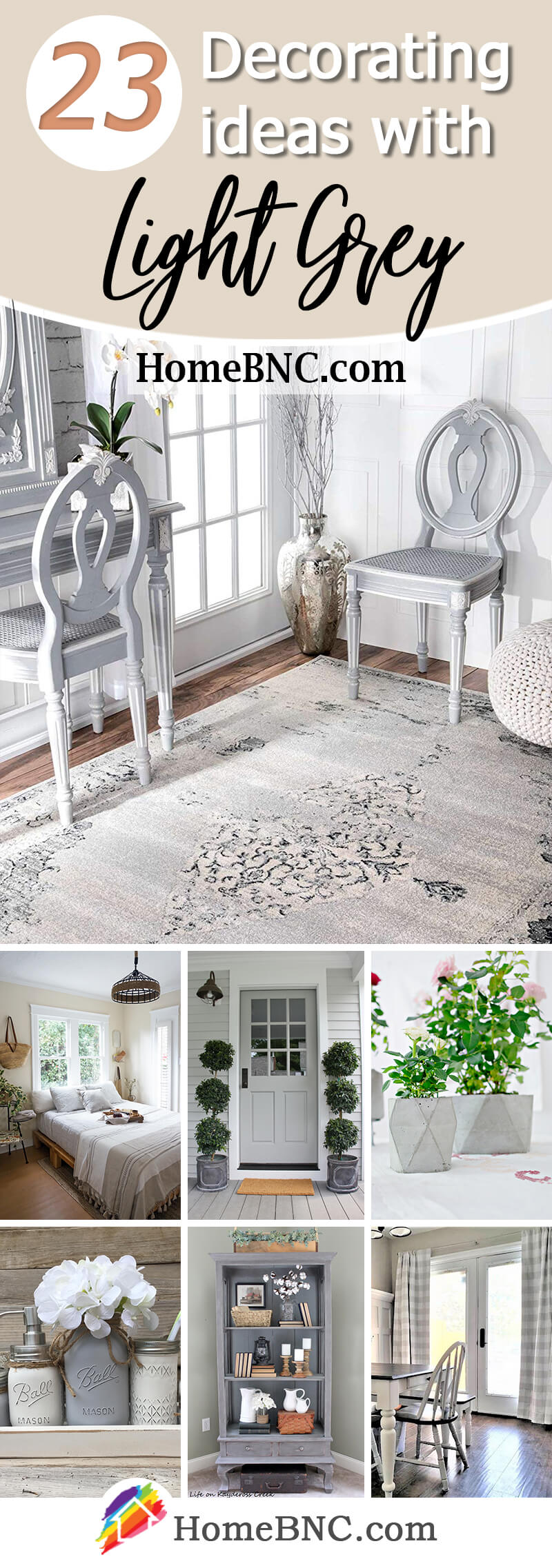 23 Best Light Grey Decorating Ideas And Designs For 2021