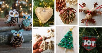 Rustic DIY Christmas Ornament Ideas