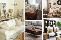 Rustic Living Room Furniture Designs