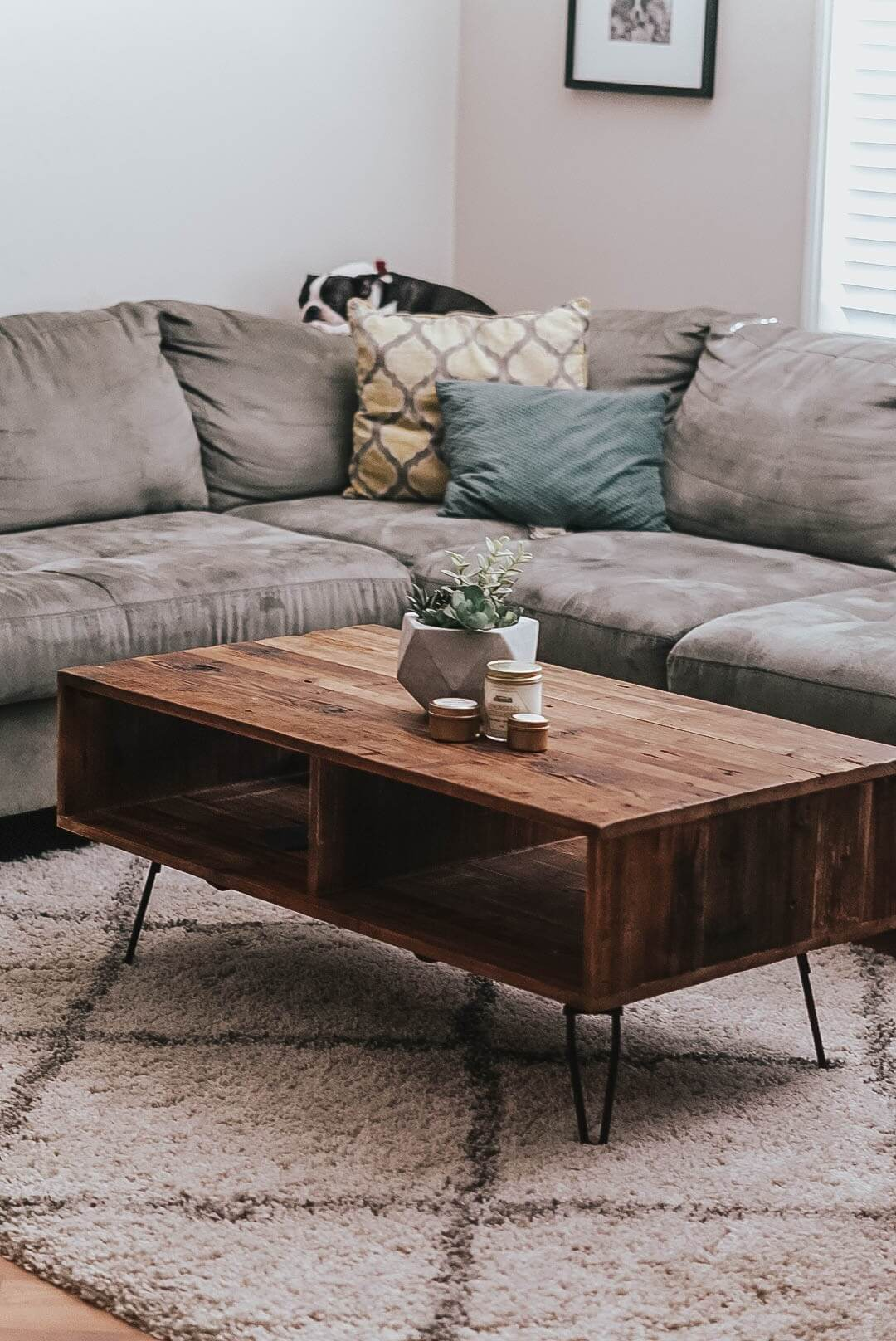 Inviting Natural Wood Coffee Table