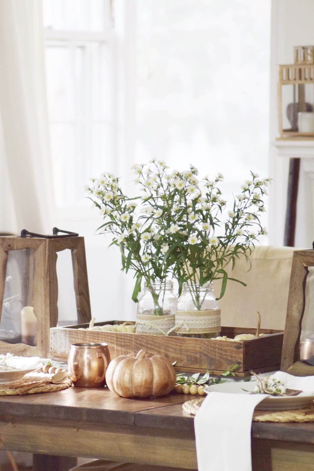 A Rustic Retreat at Your Table