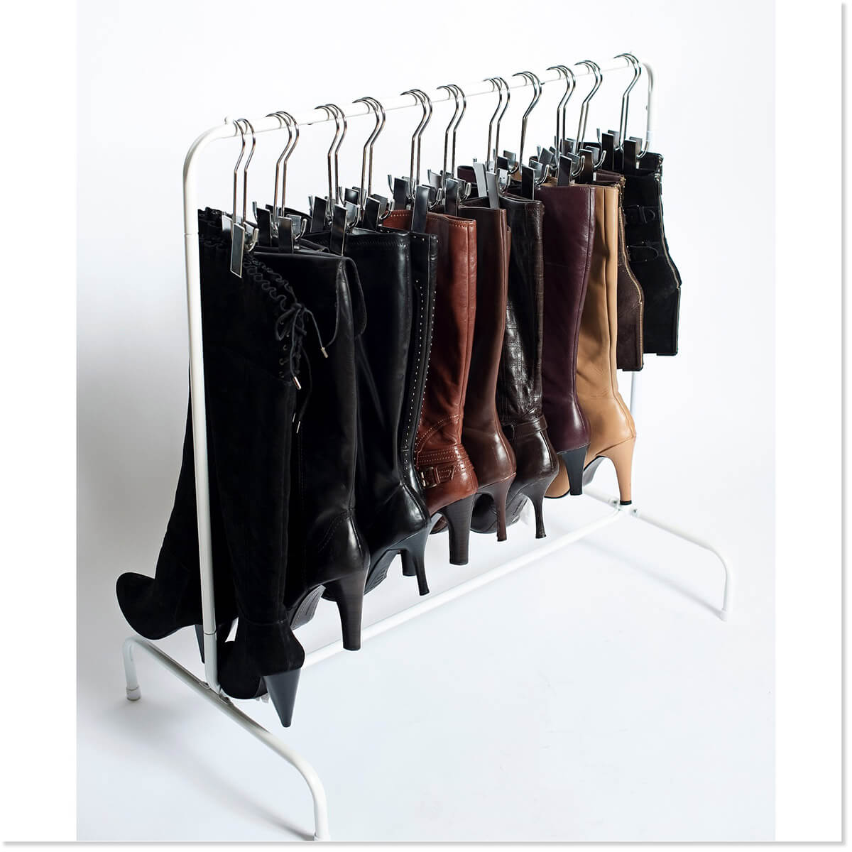 Space Saving Hanging Boot Rack