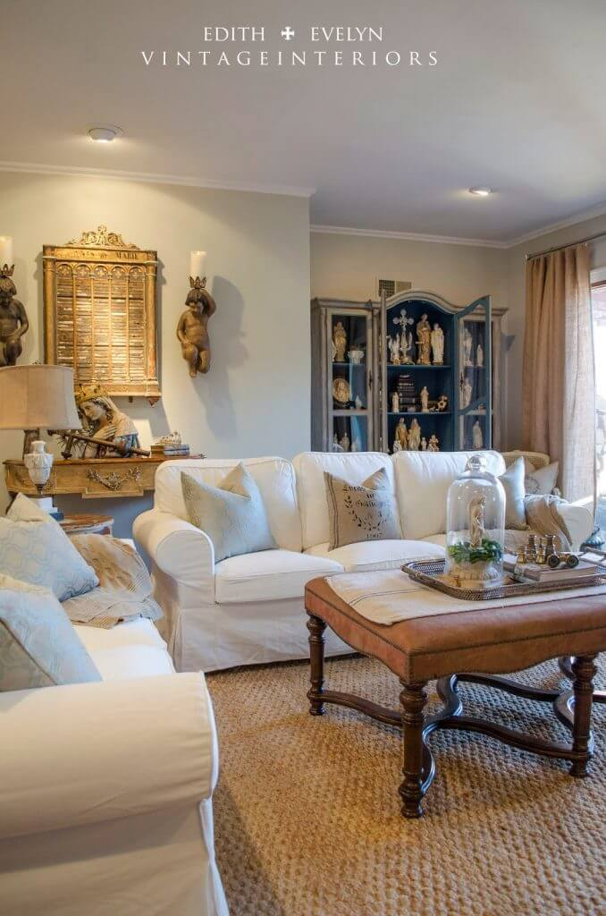 Rustic and Reverent Bright Living Space Set