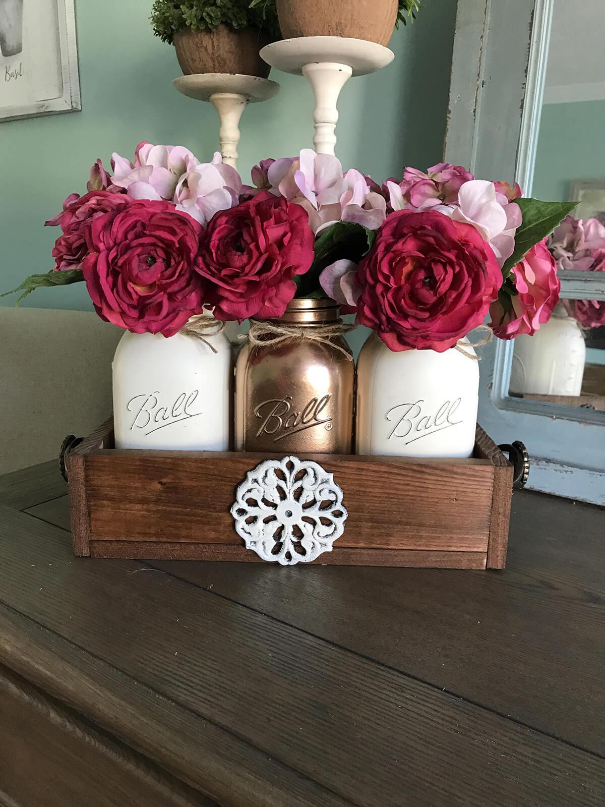 Vibrant Flowers Complete Your Decor