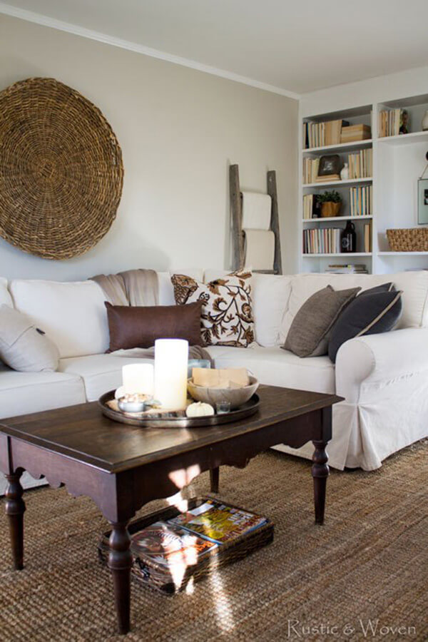 Natural Décor with Woven Accents