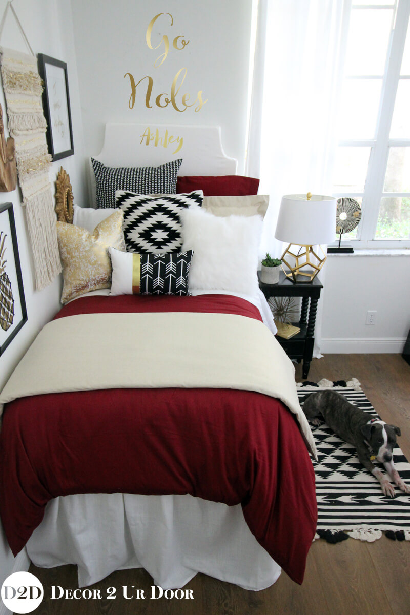 Maximize a Small Bedroom with Color and Pattern