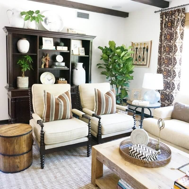 Comfy and Cozy with Fine Rustic Accents
