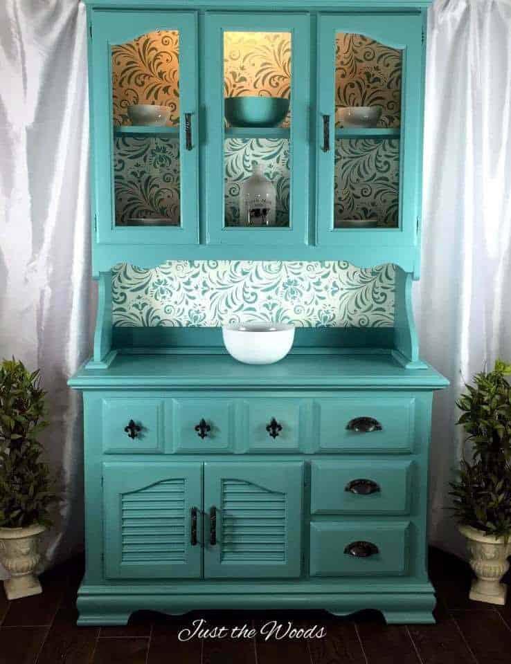 Bright Blue Paint Can Enhance Wallpaper
