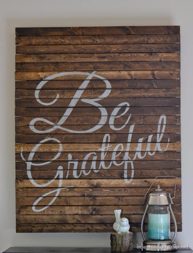 A Rustic Touch of Personalized Art