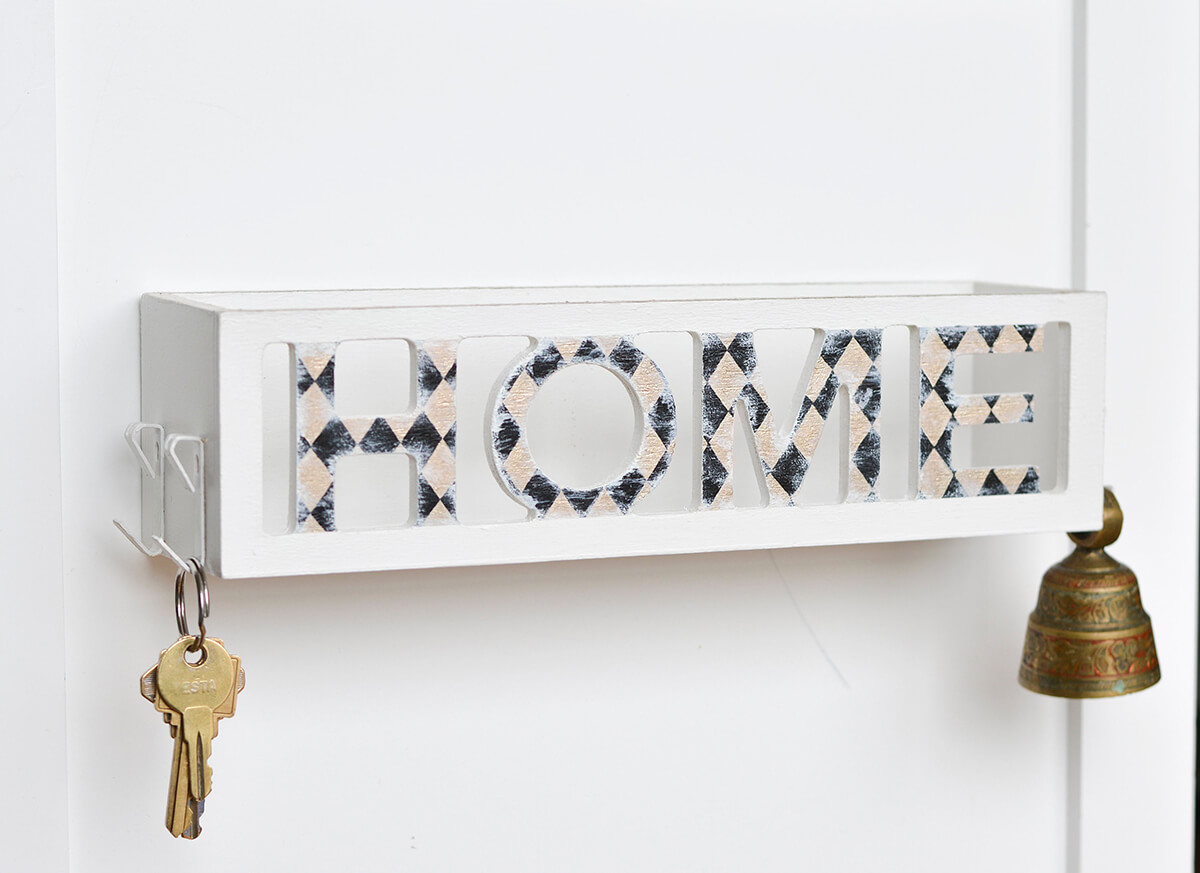 Modern Home Key and Mail Organizer