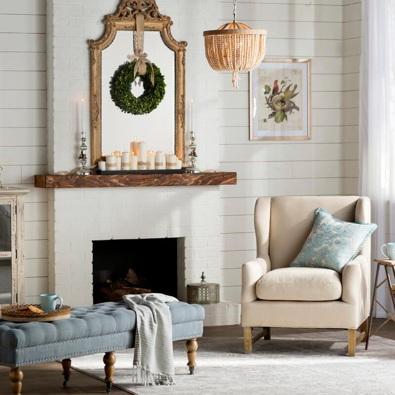 Romantic and Pastoral Shabby Chic Décor