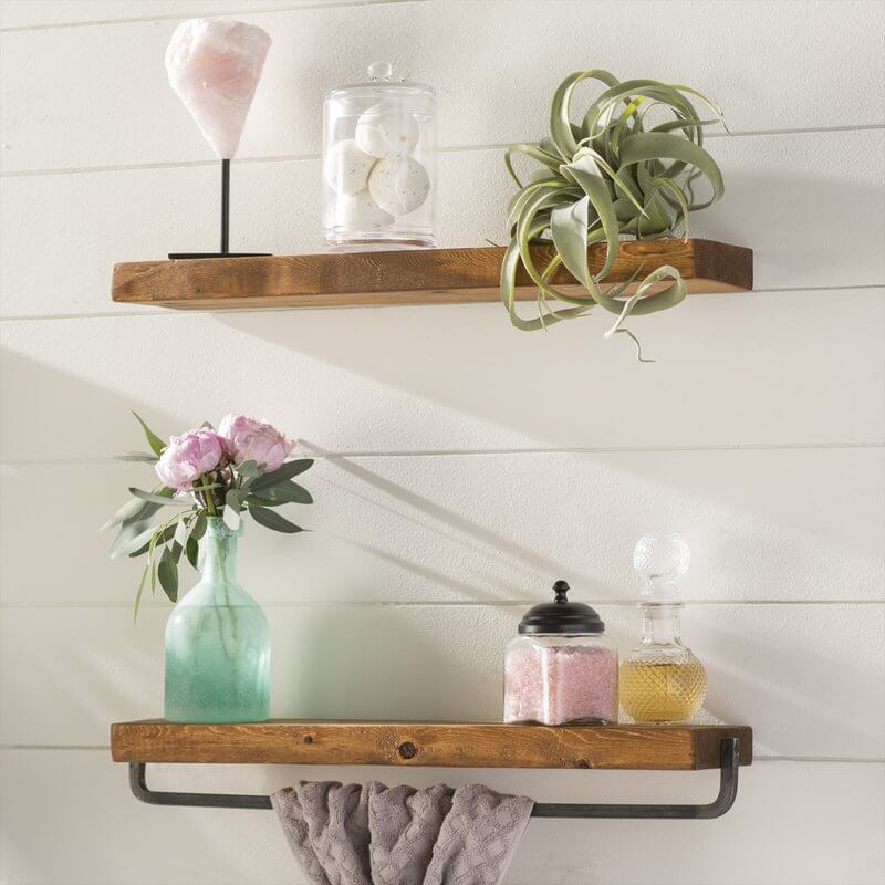 2-piece Floating Wall Shelf Set