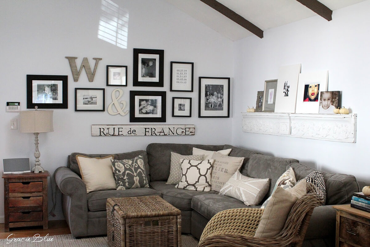 All the Farmhouse Feels with This Cozy Oasis