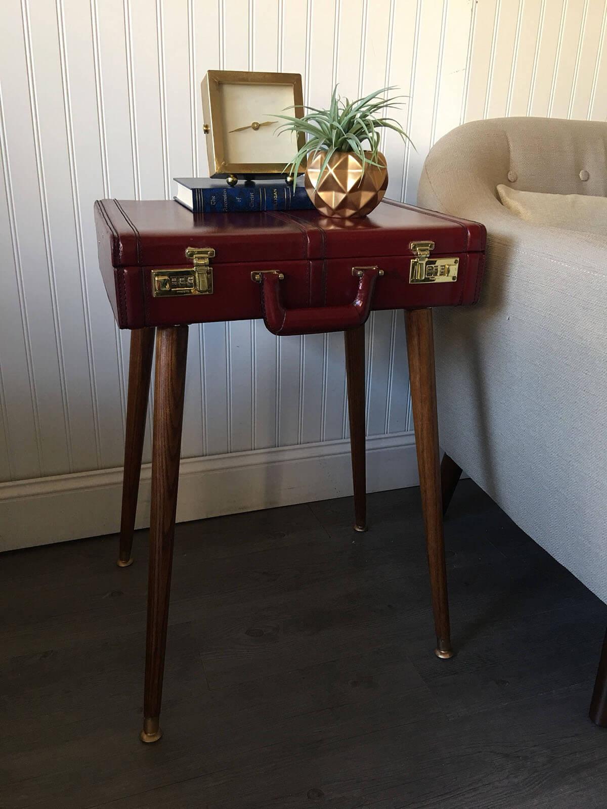 Repurpose Unique Items as Furniture