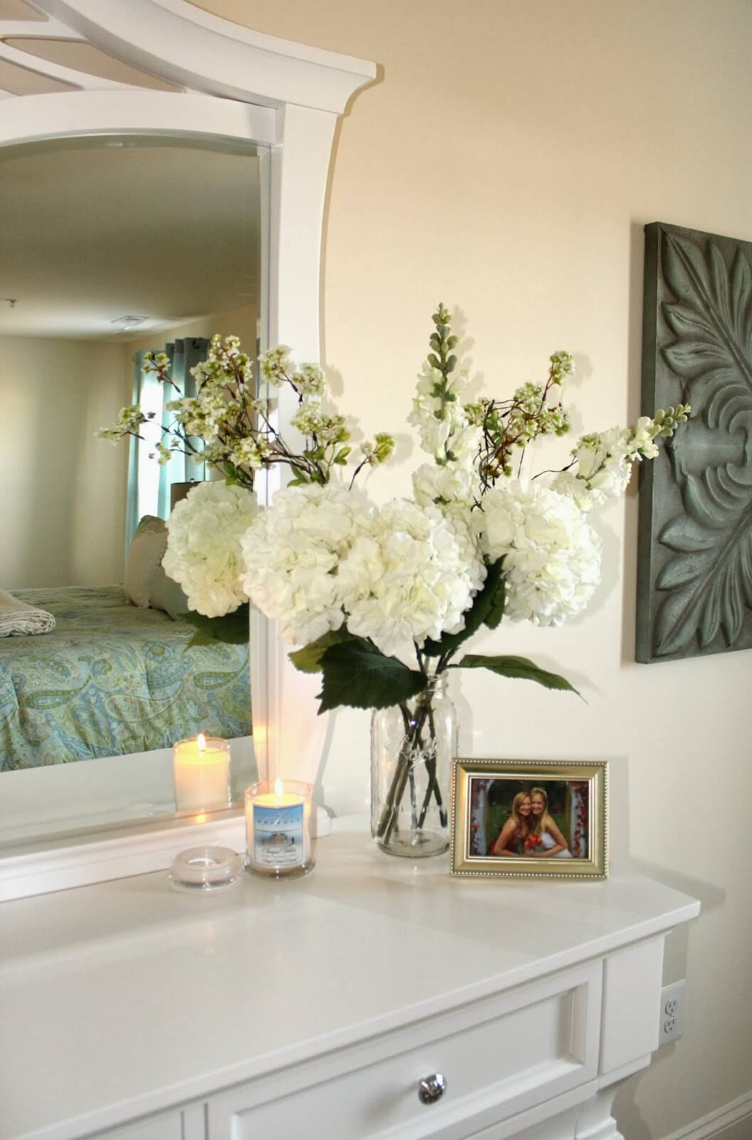 How to Style Your Dresser Top