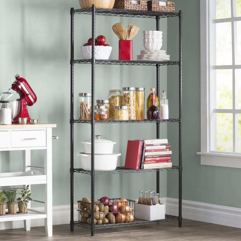 Elegant Wayfair Basics Wire Shelving Unit