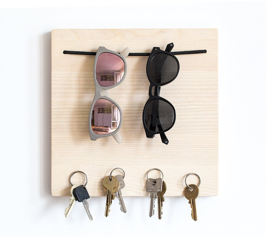 Modern Sunglasses and Key Organizer