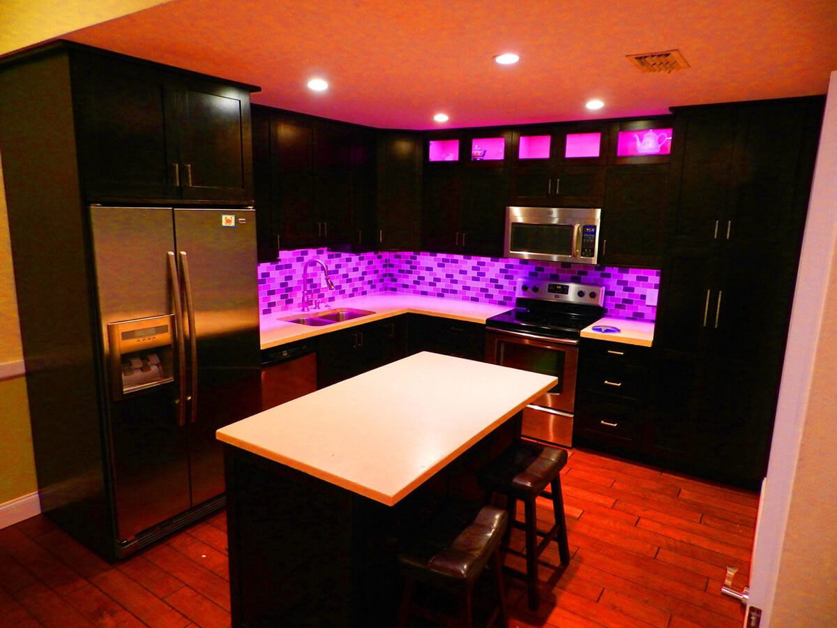 Get The Party Started with LED Kitchen Lights