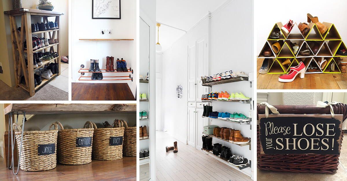 19 Clever Entryway Shoe Storage Ideas To Stop The Clutter
