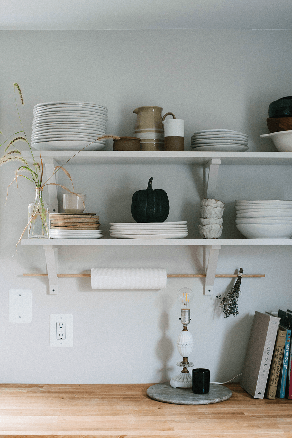 Simple and Trusty Shelves in Bright White