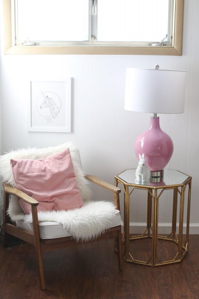 A Cozy Corner Embraced in Rose Quartz