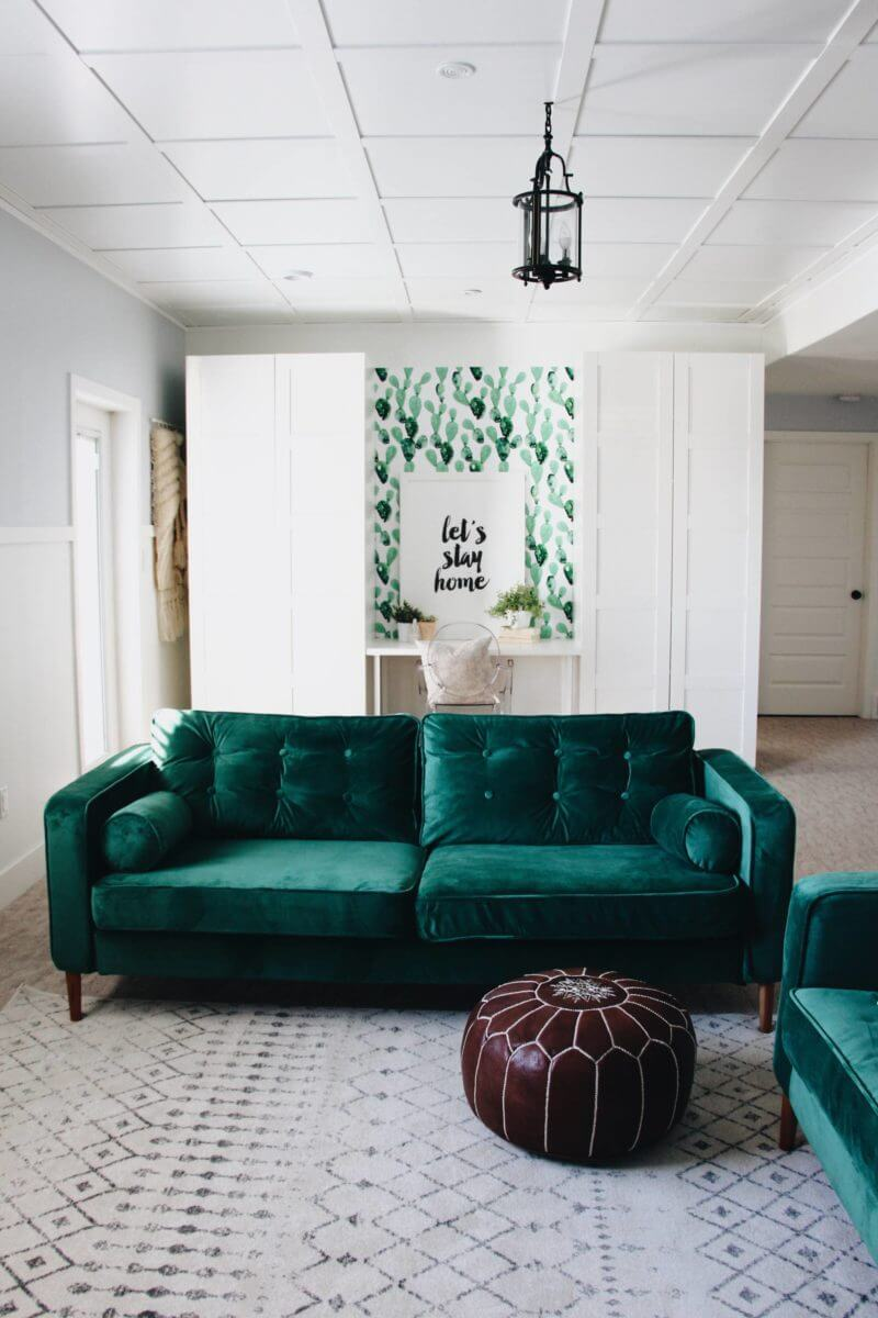 Bringing Upscale Green Velvet Dreams to Life