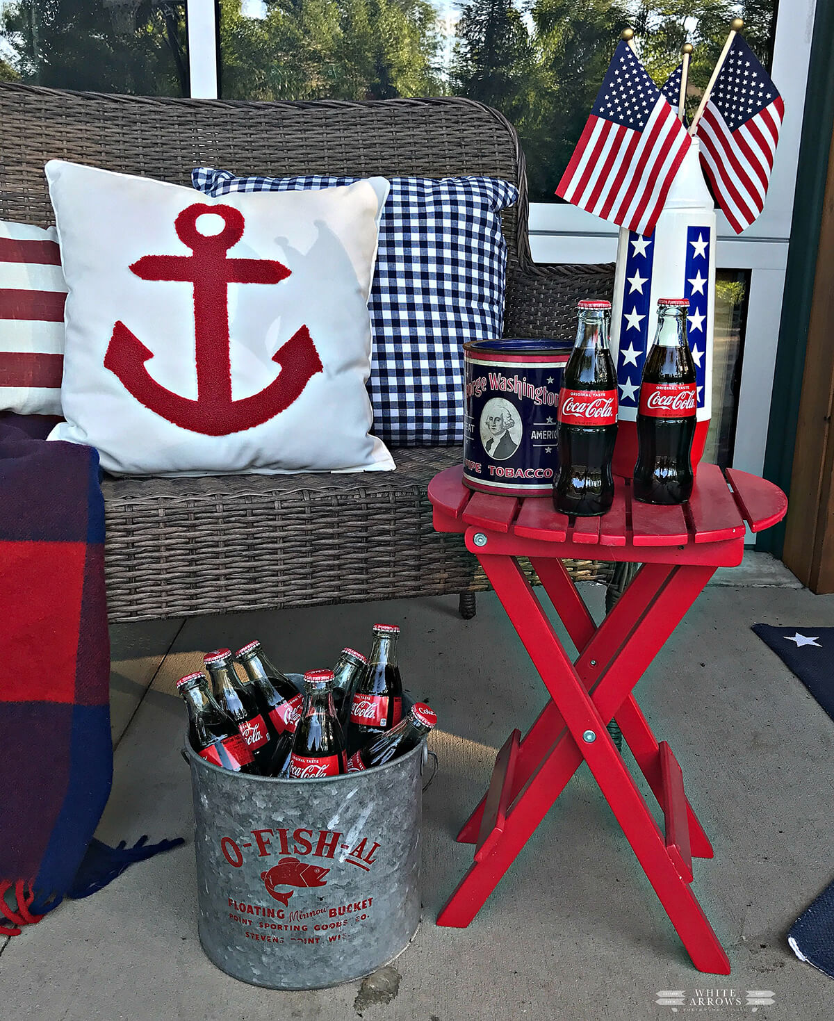 Patriotic Deck Side Celebration Design