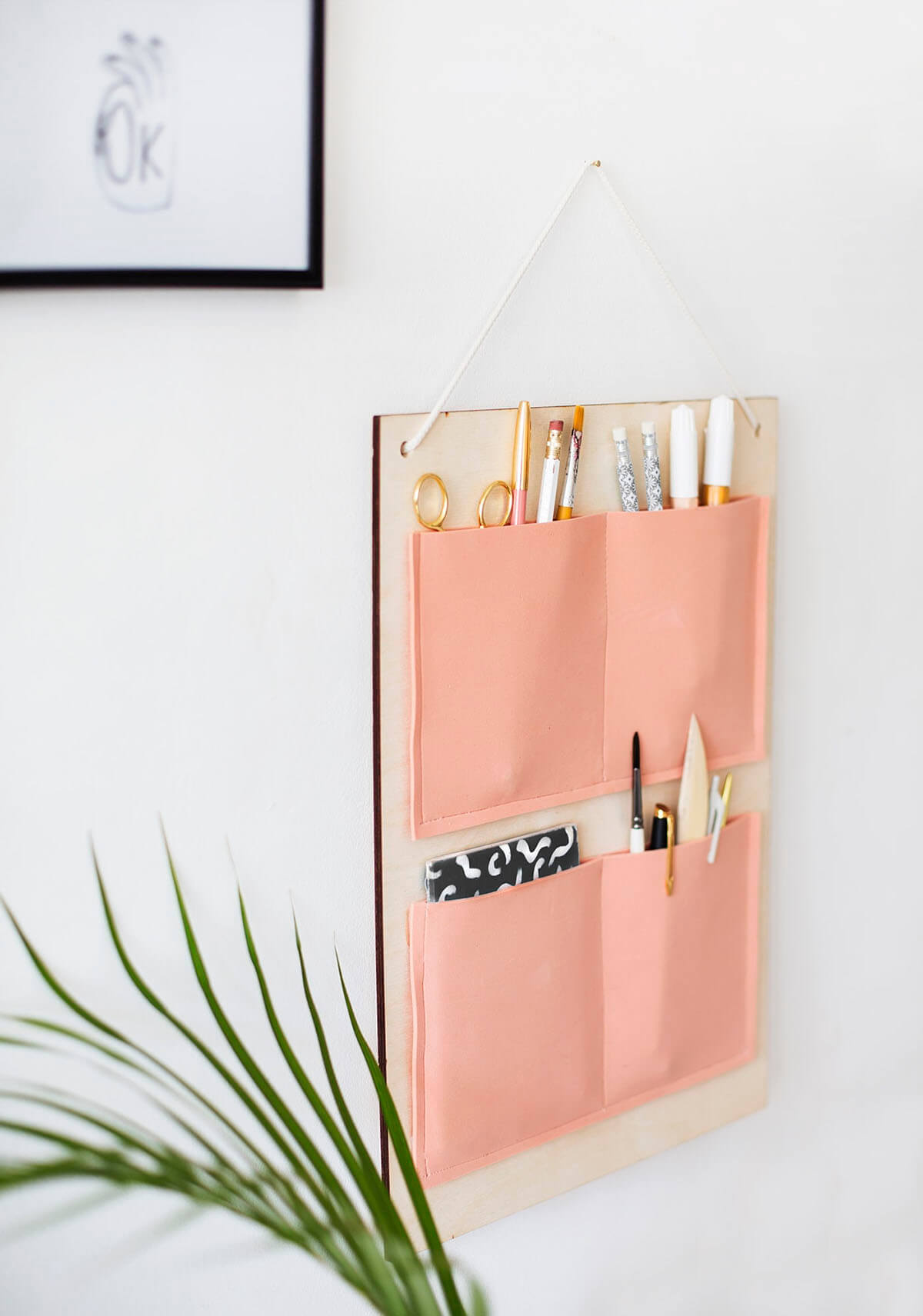 Peachy Keen Decorative Hanging Organizer