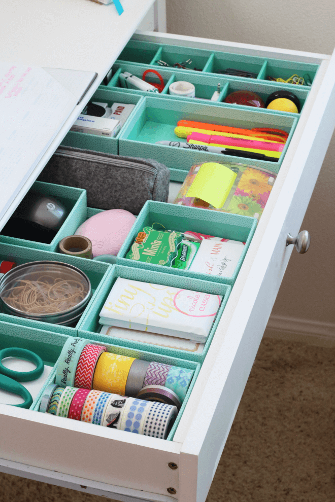 The Best Ever Drawer Organized Solution