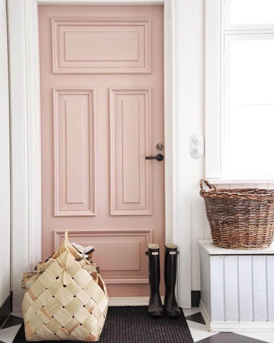 Enter the Bold Pink Door