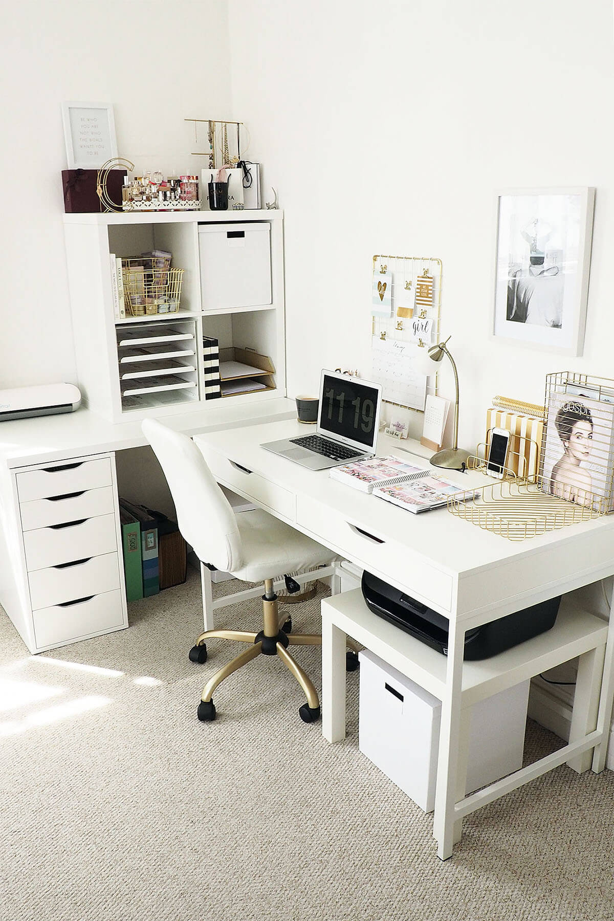 Nested Home Office Organization for Your Nest