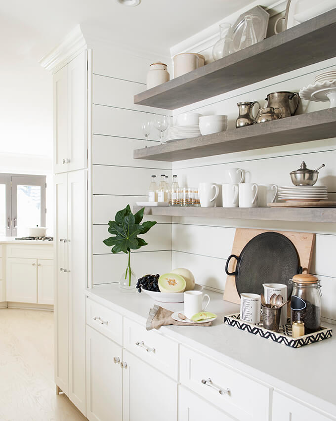 Sturdy and True Farmhouse Shelving