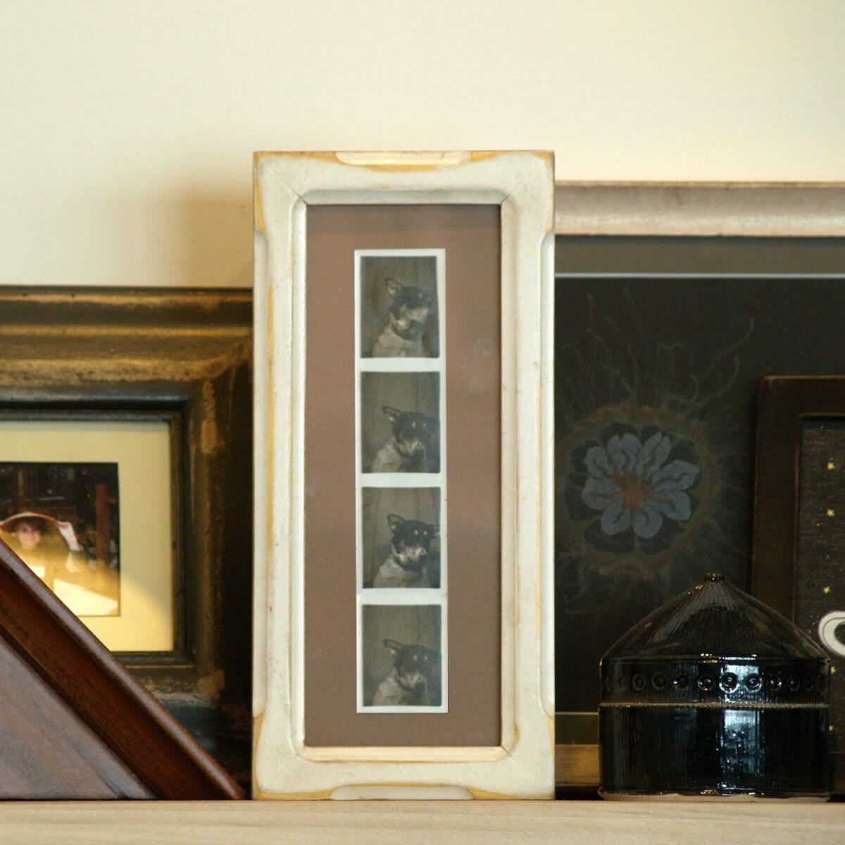 Uniquely Sized Photo Strip Vertical Display