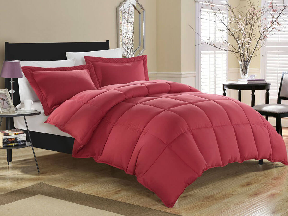 Bold and Fluffy Down Alternative Comforter Set
