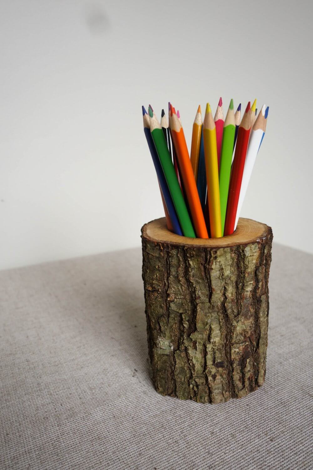 Creative Wooden Pencil Holder Perfect for Organization