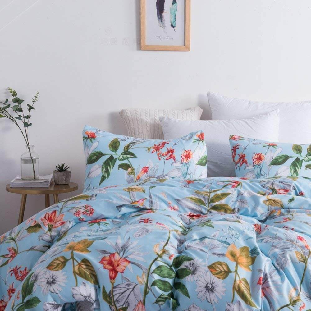 Fashionable and Floral Duvet Set