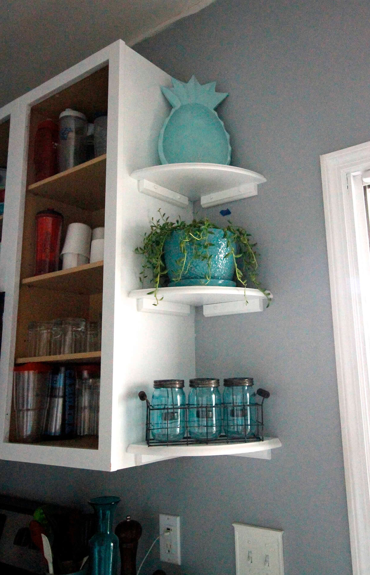 Decorative End Shelves