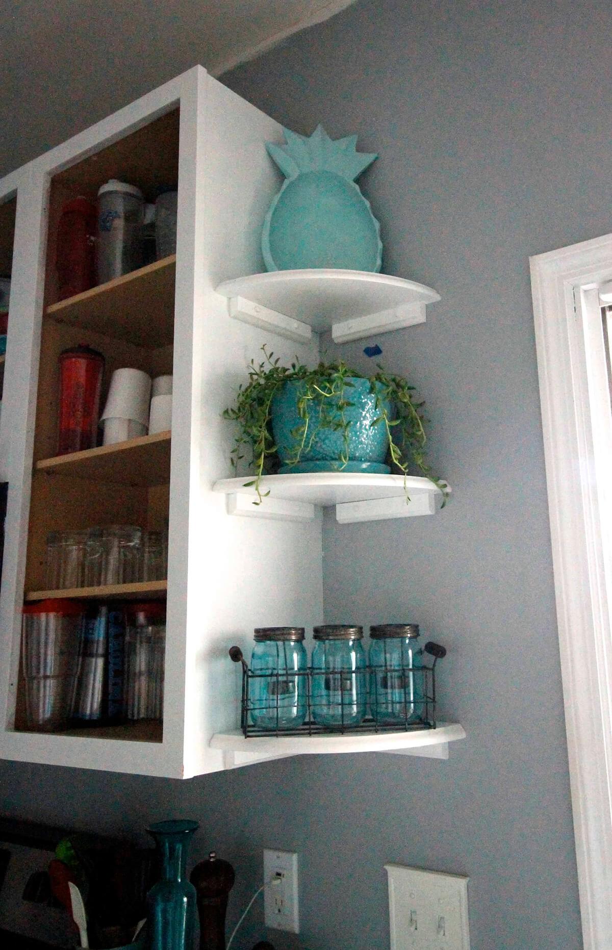 Decorative End Shelves