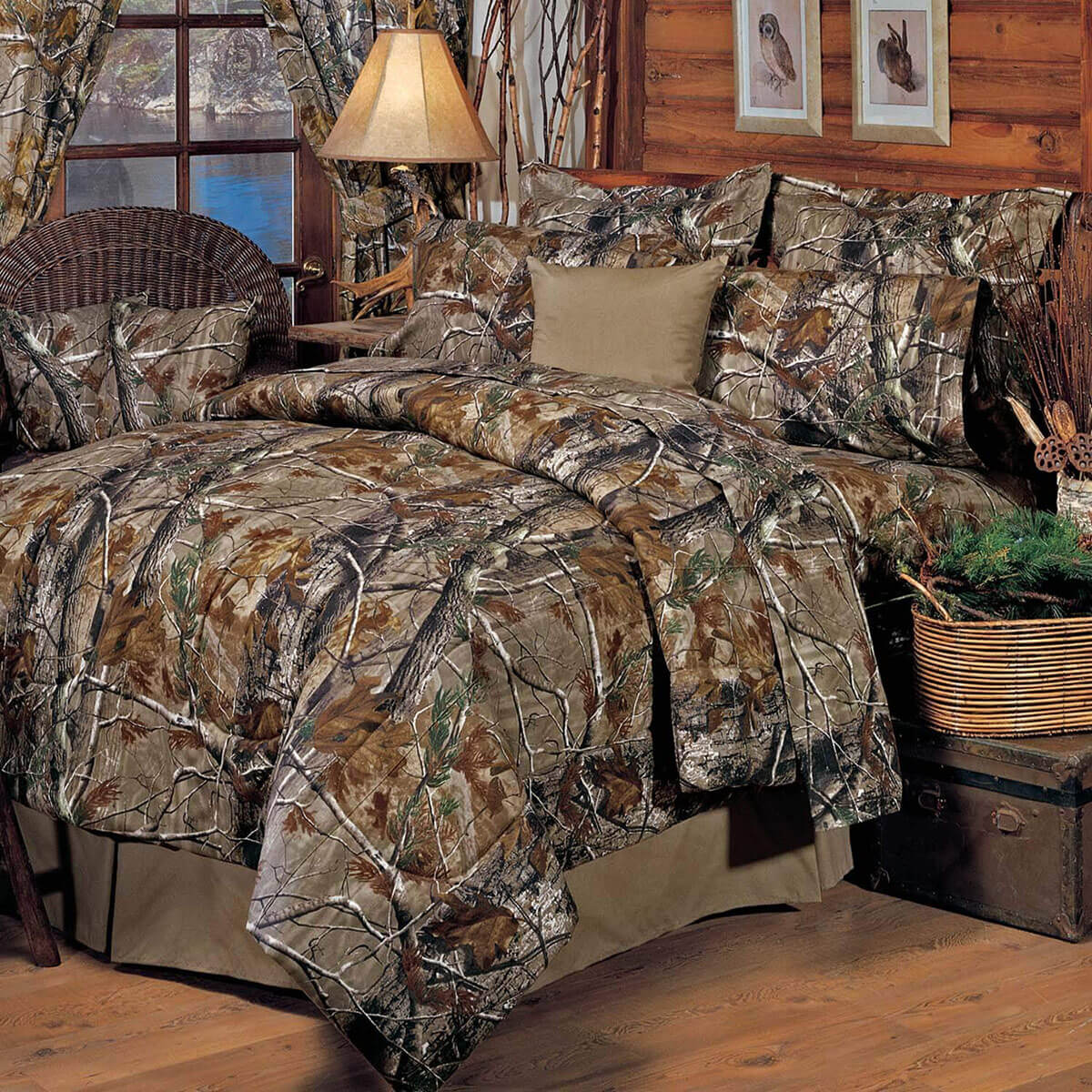 Stand Out by Blending in With Camo Bedding
