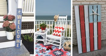 Beach Style Porch Decorations
