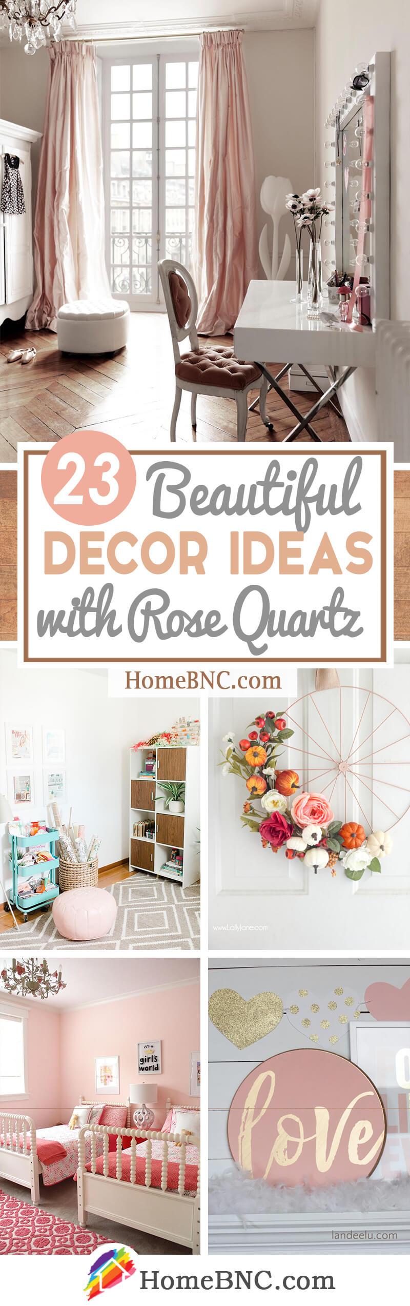Rose Quartz Decorating Ideas