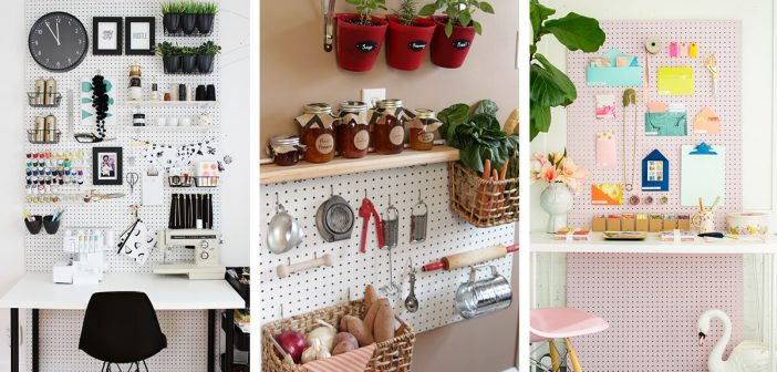 23 Best Diy Pegboard Ideas And Designs