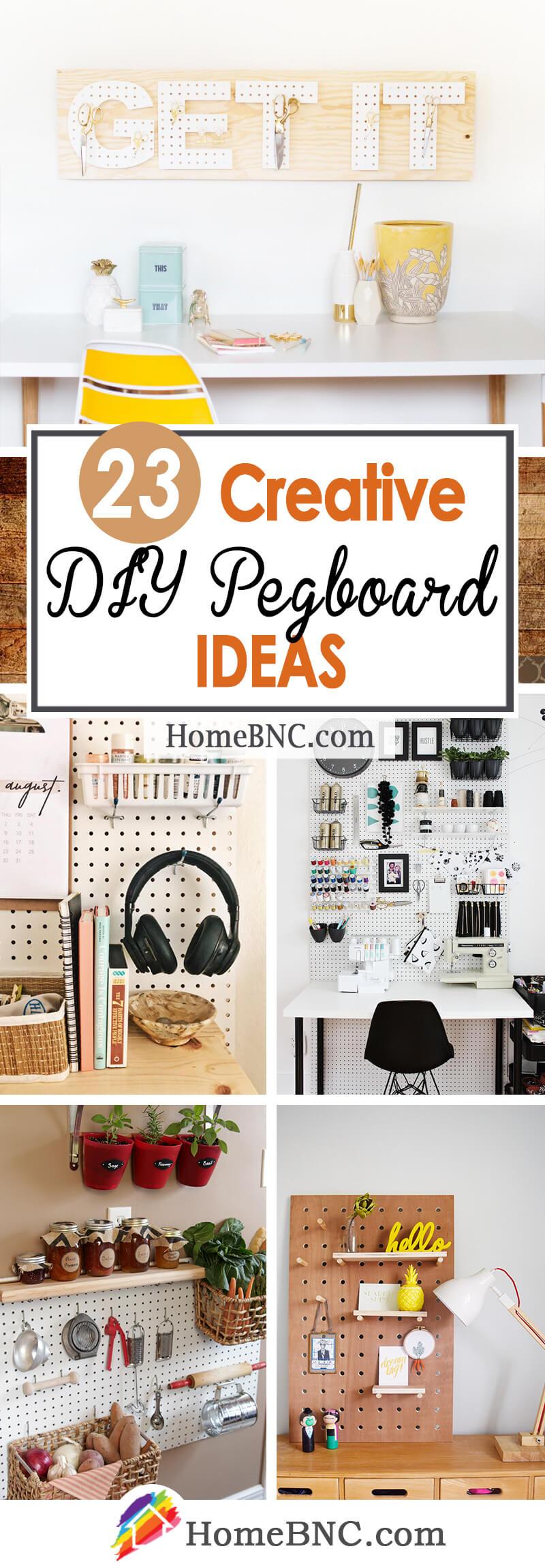 DIY Pegboard Ideas