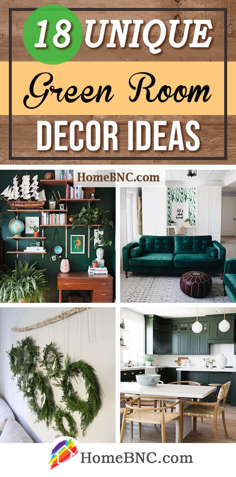 Green Room Decor Ideas